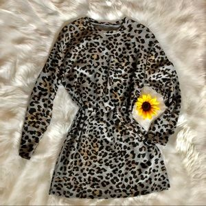 ZARA Cheetah Print Tunic Size Medium